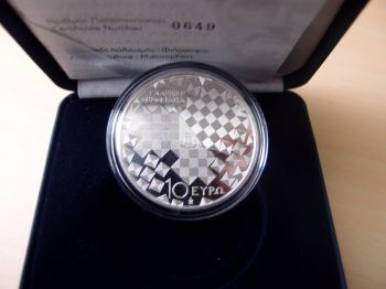 Greece 10 Euro 2013 SILVER  PROOF 1000 pieces only!!!!