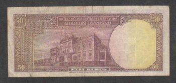 Turkey 50 kurus 1930