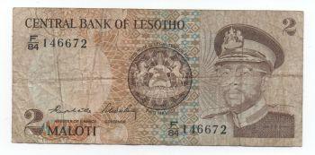 LESOTHO 50  MALOTI  2010-2011 UNC