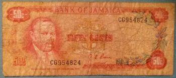 JAMAICA 1 DOLLAR 1989 P-68 UNC