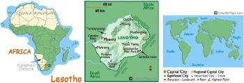 LESOTHO 20 MALOTI 2010-2011  UNC