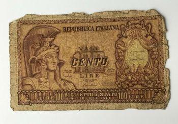 ITALY 1000 LIRE 1982 P 109 UNC