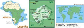 LESOTHO 10 MALOTI 1990 P-11a UNC