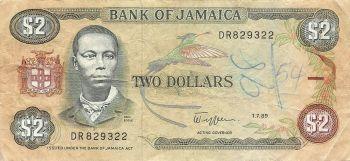 JAMAICA 100 DOLLARS  2007  P-84  AUNC