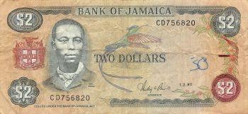 JAMAICA 10 DOLLARS 1994 UNC