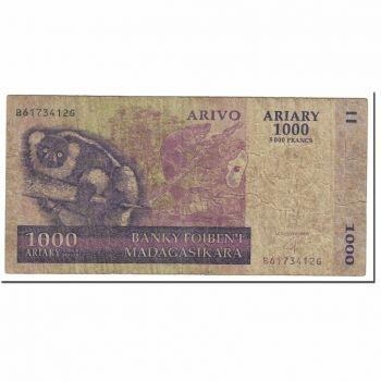 MADAGASCAR 1000 ARIARY 2004 P 89 UNC