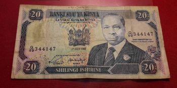 KENYA 10 SHILLINGS 1992 UNC