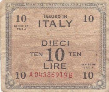 ITALY 10.000 LIRE 1984 P-112b UNC
