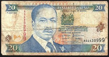 KENYA 200 SHILLINGS 2010 P-New AUNC