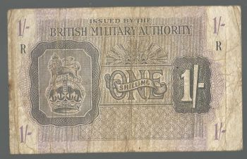 Greece: British Military Authority One shilling Super Offer!!