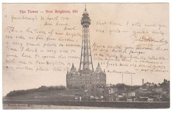 The Tower - New Brighton 1904