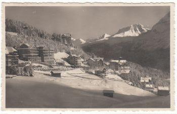 Postcard & Stamp - Helvetia 1933