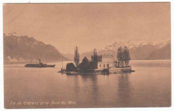 Postcard & Stamp - Helvetia 1911