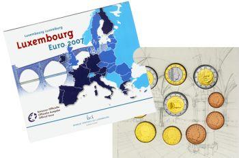 Luxembourg Euro Mint Set 2007