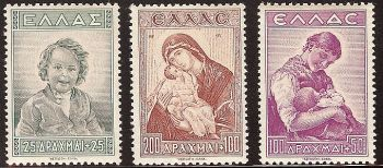 Greece - 1943 Child welfare MNH