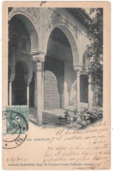 Spain 1904 - Galeria Del Generalife