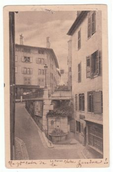 Geneve 1924 - Le Perron