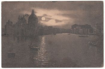 Postcard & Stamp - Venice 1908