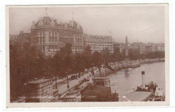 London 1926 - Thames Embankment from Westminster Bridge