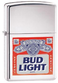 2000. Zippo Bud Light Label  -  Free shipping
