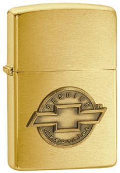 1999. Zippo Chevrolet Brass Emblem  -  Free shipping