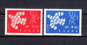 Auction	 Greece Europa - CEPT 1961 MNH