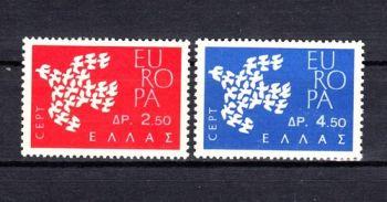 Auction Greece Europa - CEPT 1961 MNH