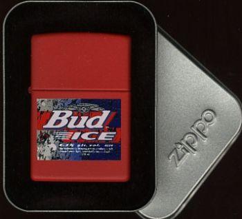 1996. Zippo Bud Ice - Free shipping