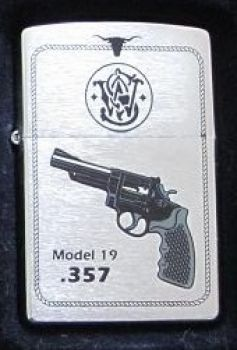 1997.  Zippo Revolver .397 Model 19