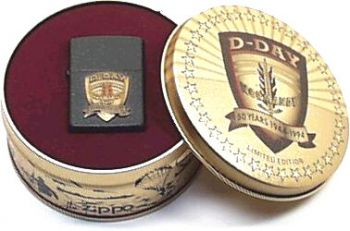 1994. Zippo 50Th D-Day Normandie Emblem - Free shipping