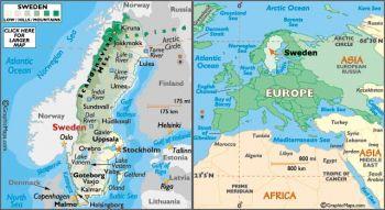 SWEDEN 2 κορώνες 1965 ασημένιο, εξαιρετικότατο