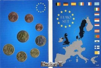 GREECE complete Set  2003  Folder
