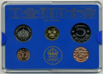 SWEDEN  2003 Mint Set