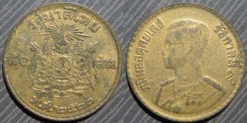 THAILAND 20  BAHT 1995 UNC
