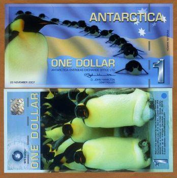 ANTARCTICA 100 DOLLARS 2001 SPECIMEN (Αρ.00000) UNC