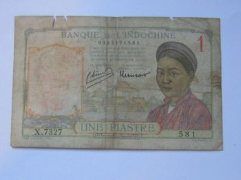 FRENCH INDOCHINA 20 CENTS ND 1939 P 86 XF