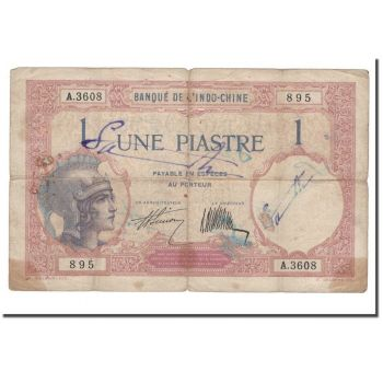 FRENCH INDOCHINA 1 PIASTRE P105 AUNC