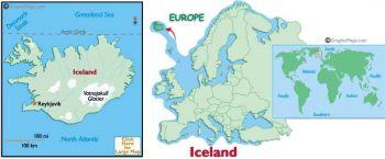 ICELAND 5 KRONUR 1957 P-37a UNC