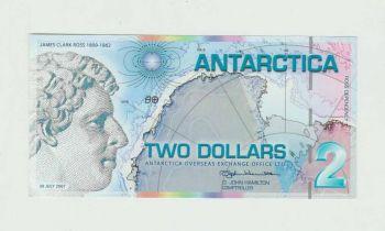 ANTARCTICA 10 DOLLARS 2001 SPECIMEN (Αρ.00000) UNC