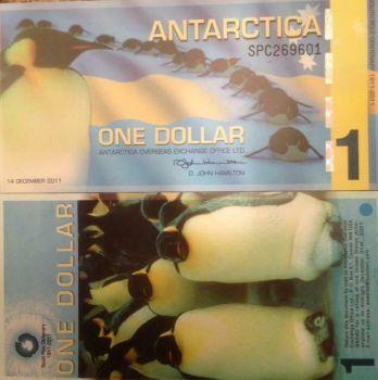 ANTARCTICA 20 DOLLARS 2008 POLYMER UNC