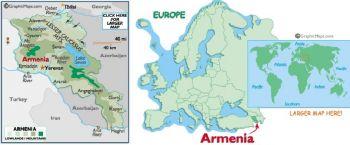 'ARMENIA 500 DRAM 1999 P-44 UNC
