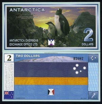 ANTARCTICA 50 DOLLARS 2001 SPECIMEN (Αρ.000000) UNC
