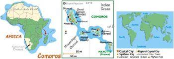 COMOROS 2.000 FRANCS 2005 UNC
