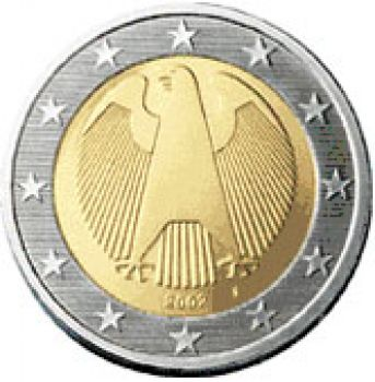 Germany  regular 2 euro 2010 J ,UNC!!