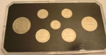 GREECE SET 1926 - 1930 IN HARD PLASTIC CASE !!!