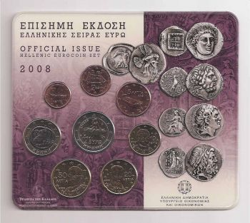 Greece: Official BU set 2008