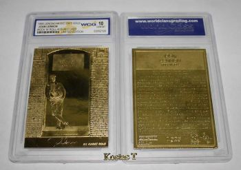 John Lennon, Χρυσή (23Kt) συλλεκτική κάρτα