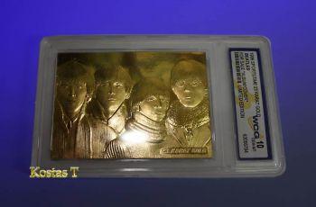 Beatles For Sale Χρυσή (23Kt) συλλεκτική κάρτα