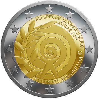 Greece 2 euro cc 2011 OFFER!!!!