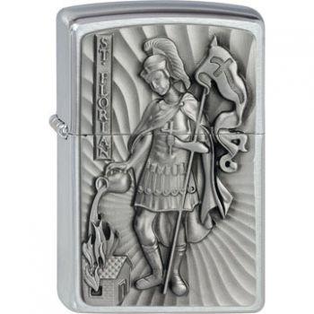 Zippo Saint Florian Emblem  -  Free shipping